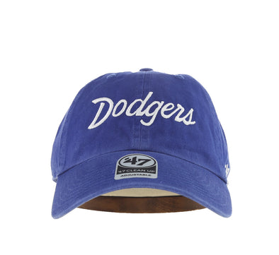 LOS ANGELES DODGERS SCRIPT '47 CLEAN UP