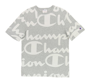 GIANT SCRIPT ALL OVER HERITAGE TEE