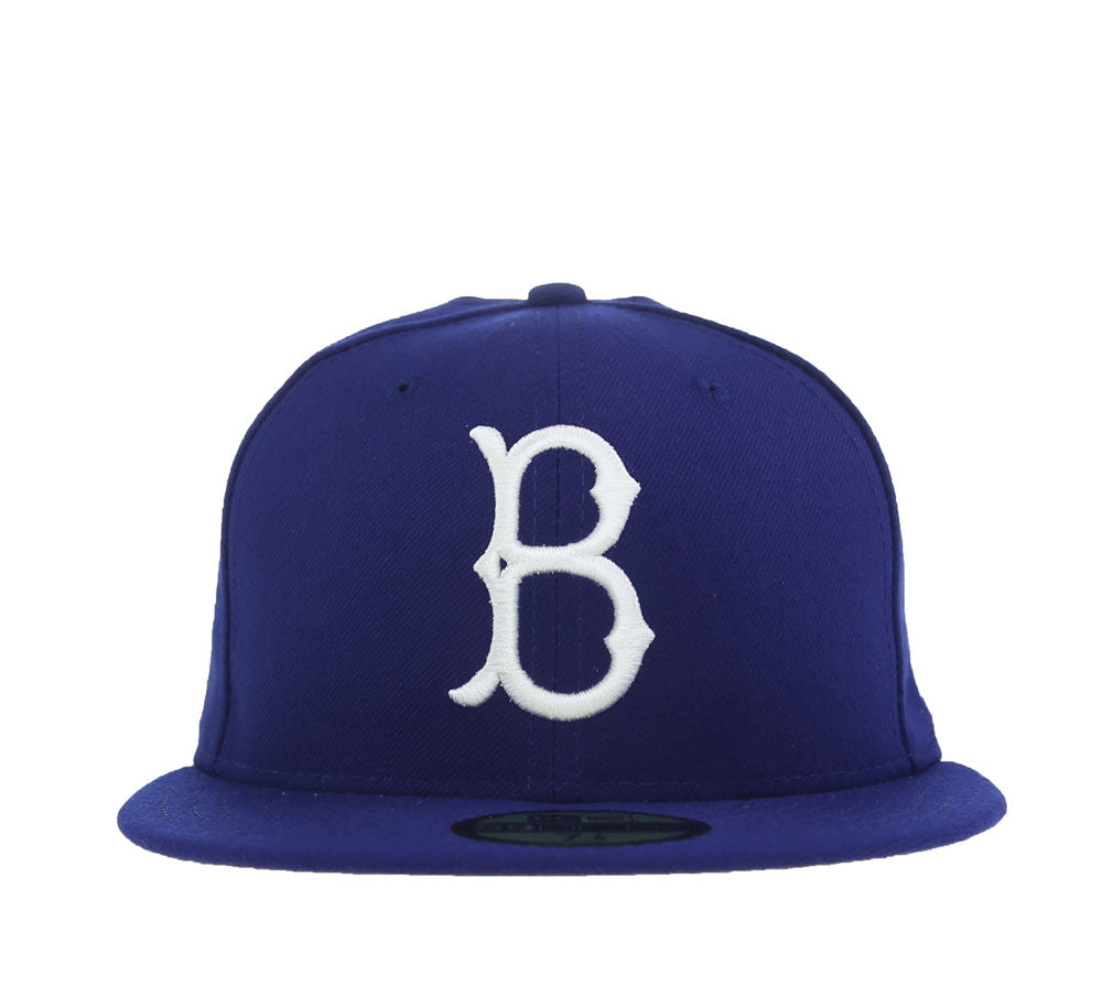 c83e709070e BROOKLYN DODGERS JACKIE ROBINSON FITTED CAP – SHOPATKINGS