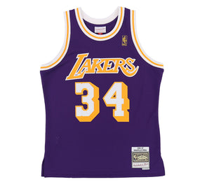 LOS ANGELES LAKERS SHAQUILLE O'NEAL #34 SWINGMAN JERSEY