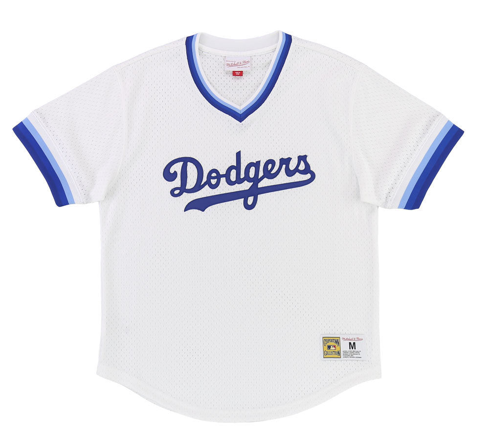 ac6b71e18 LOS ANGELES DODGERS MESH V-NECK JERSEY – SHOPATKINGS