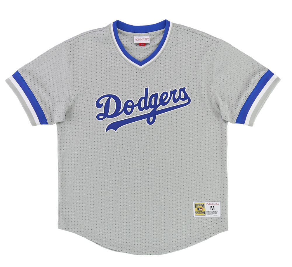 708dbe24c LOS ANGELES DODGERS MESH V-NECK – SHOPATKINGS