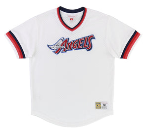 CALIFORNIA ANGELS MESH V-NECK