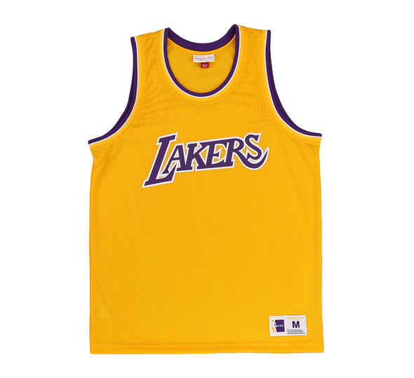 LOS ANGELES LAKERS MESH TANK TOP