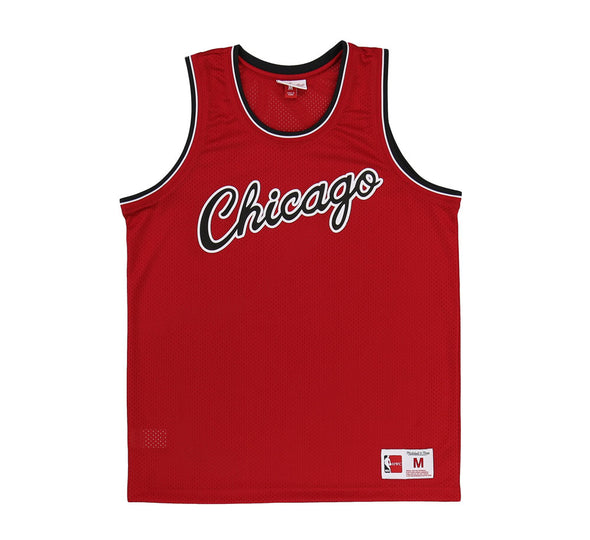 CHICAGO BULLS MESH TANK TOP