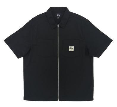 FULL ZIP WORK SHIRT