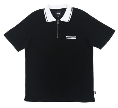TERRY LION ZIP POLO