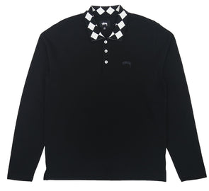 LOUIE LONG SLEEVE POLO