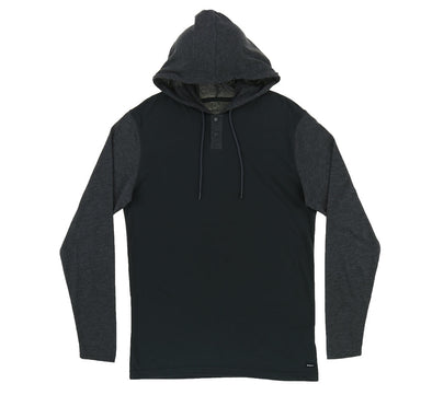 PICK UP HOODED KNIT SHIRT