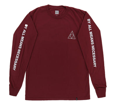 ESSENTIALS TRIPLE TRIANGLE LONG SLEEVE