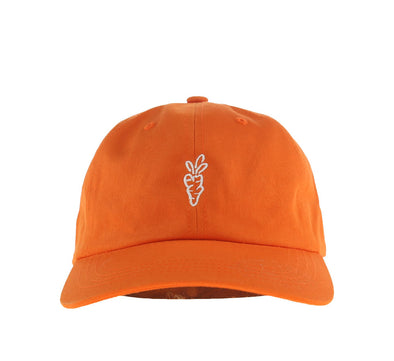 CARROTS SIGNATURE DAD HAT, ORANGE