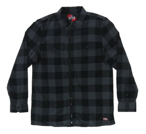 VANS X INDEPENDENT FULL ZIP FLANNEL