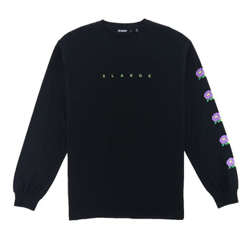 FLOWER LOGO LONG SLEEVE