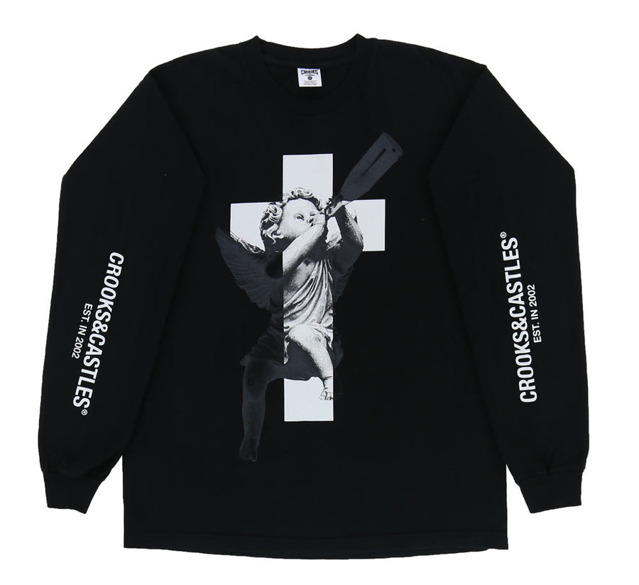 SPIRIT CROSS  L/S TEE