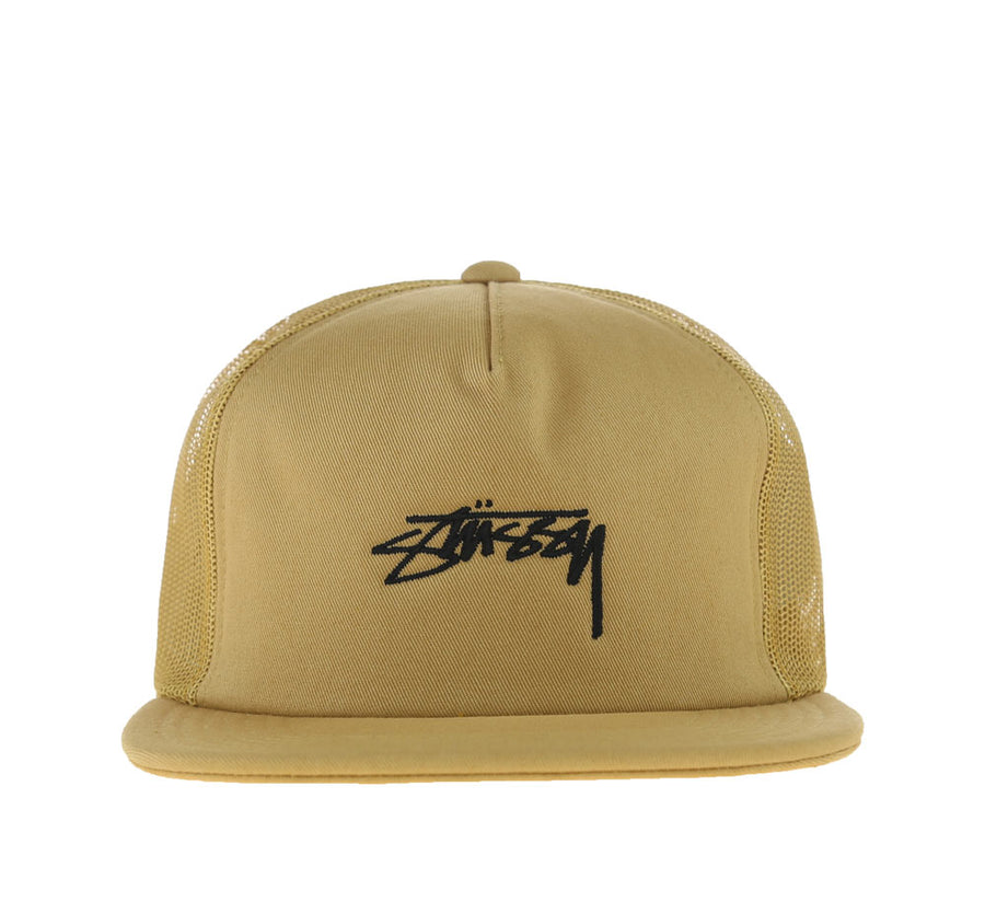 STOCK FOAM TWILL TRUCKER CAP