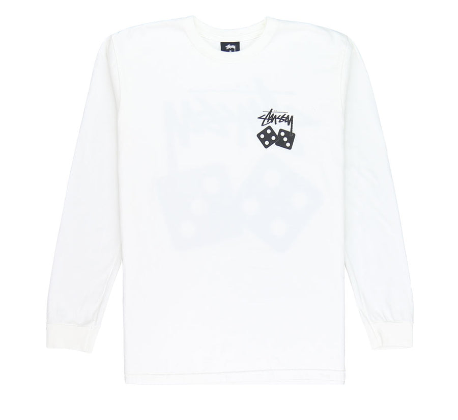 DICE PIGMENT DYED L/S TEE
