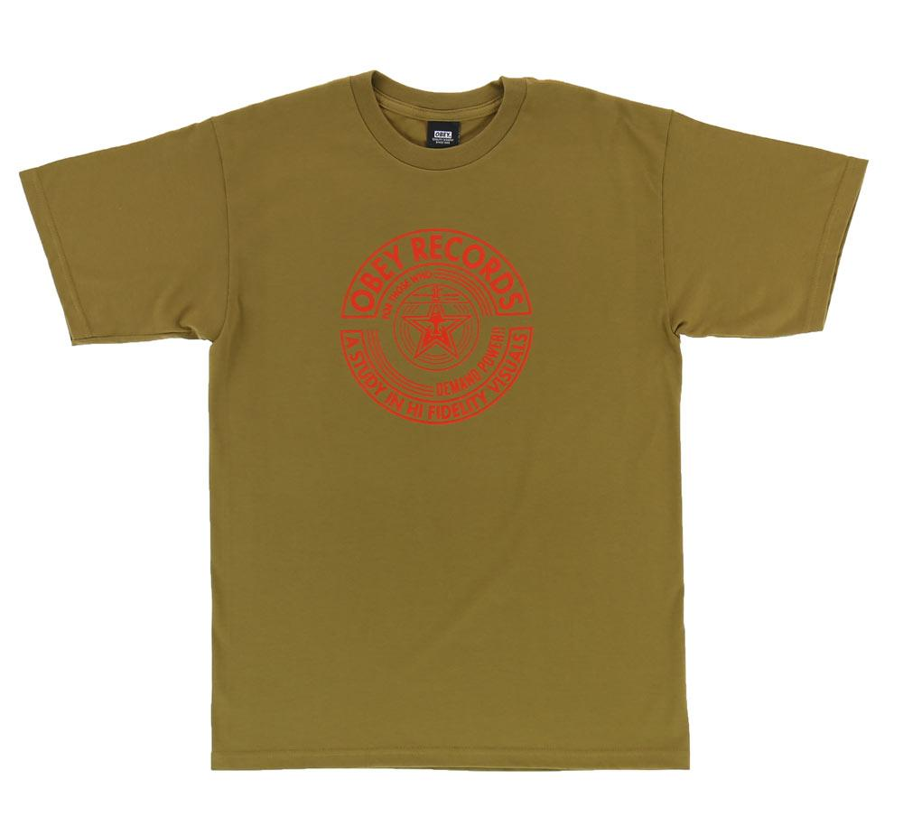 OBEY VISUAL FIDELITY TEE