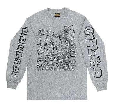 MESSY GARFIELD L/S TEE