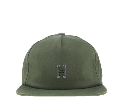 WASHED METAL H STRAPBACK