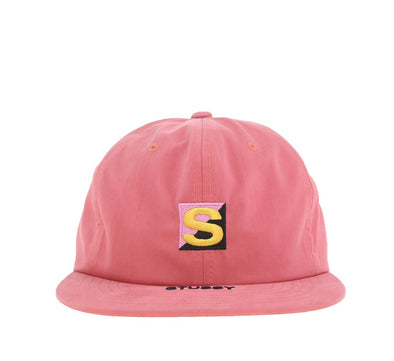 COTTON NYLON STRAPBACK CAP