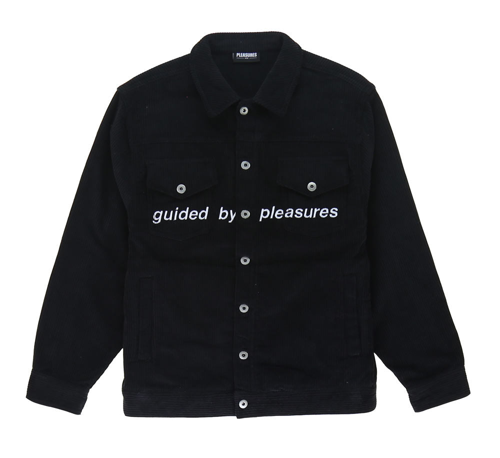 GUIDED CORDUROY TRUCKET JACKET