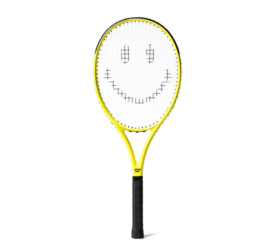 SMILEY TENNIS RACKET