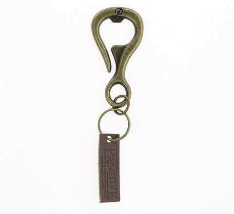 HIGH COUNTRY BOTTLE OPENER, BRASS