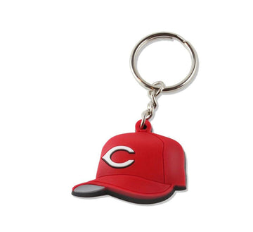 REDS TEAM HAT KEYCHAIN