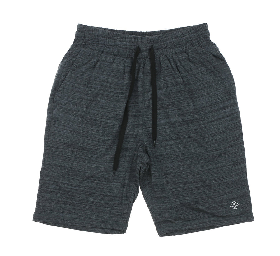 RC HEATHERED SWEATSHORTS