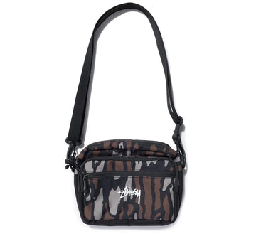 TREE BARK SHOULDER BAG