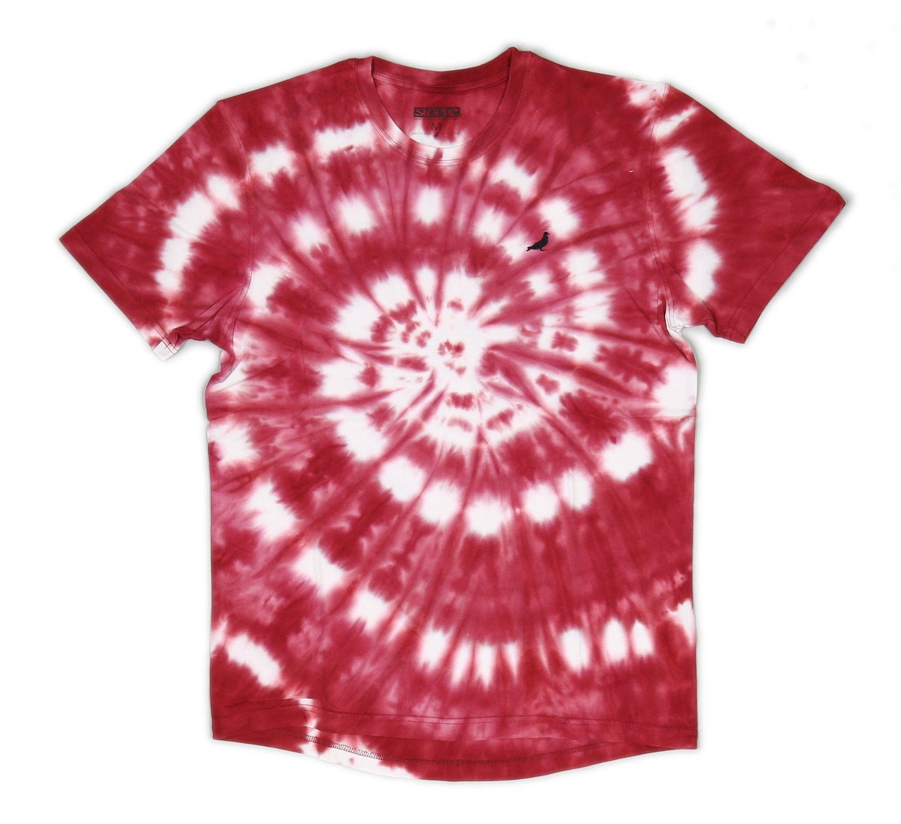 GRAILS TIE DYE TEE, RED