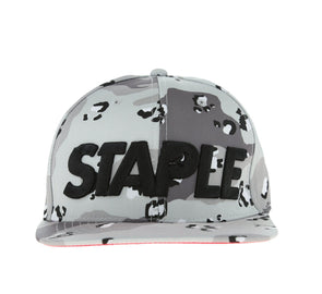 CONCRETE SNAPBACK, HEATHER GREY