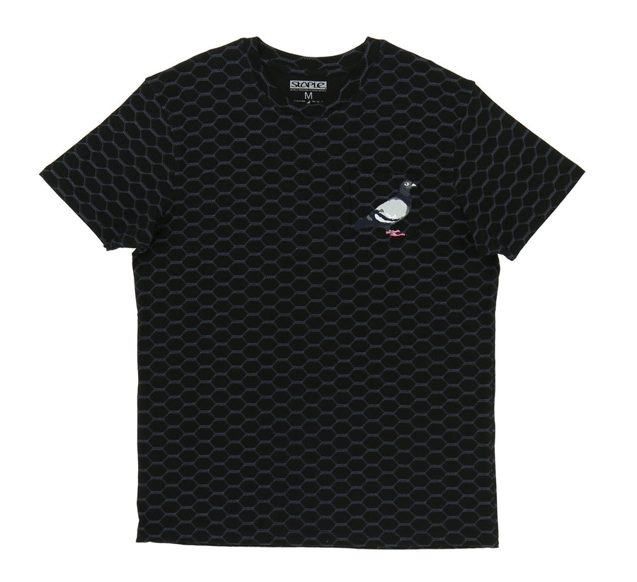 WIRE PIGEON POCKET TEE