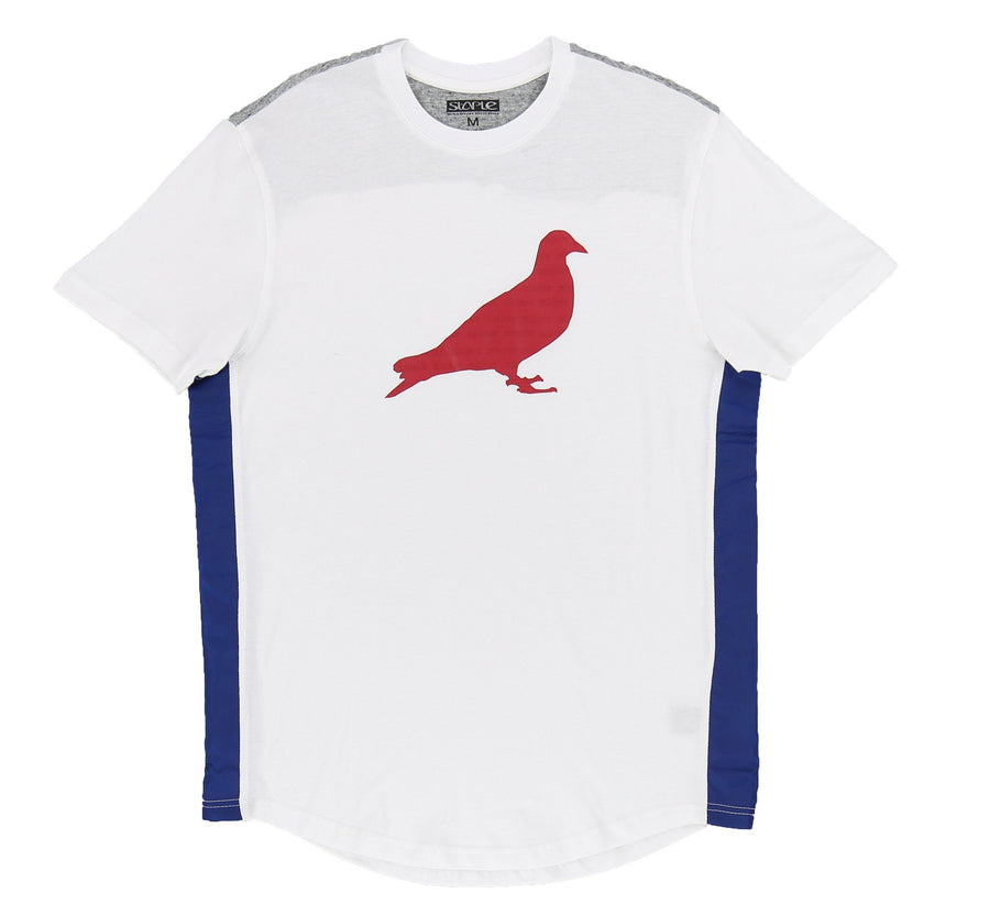 TRUE BLUE PIGEON TEE