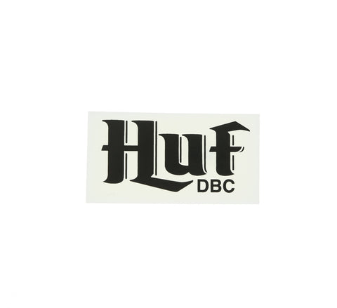 HUF DBC STICKER