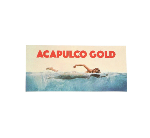 ACAPULCO JAWS STICKER