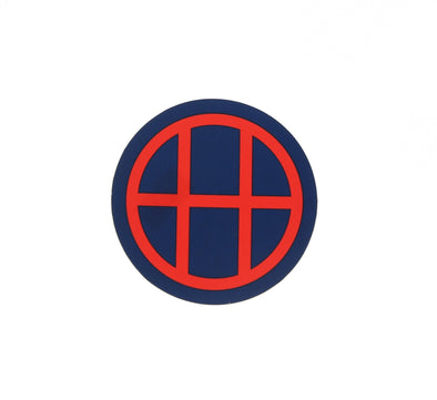 HUF CIRCLE H STICKER