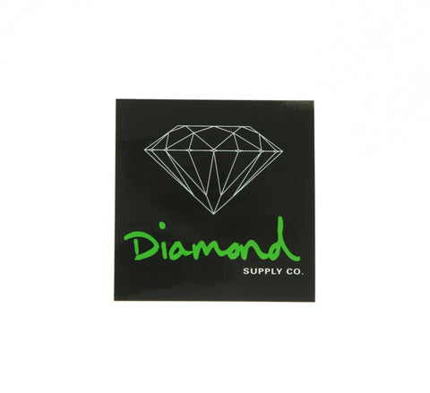 DIAMOND OG SCRIPT BOX STICKER