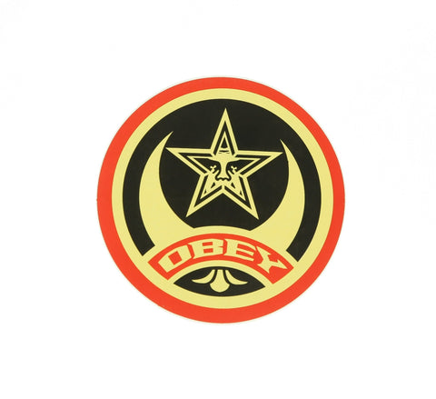 OBEY STAR STICKER