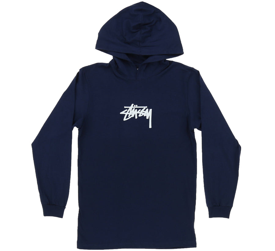 MARKER STOCK LS HOODED TEE