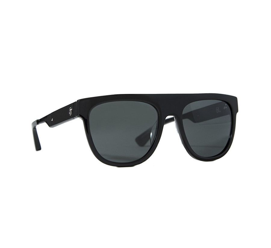 GIL SUNGLASS, BLACK/DARK GREY