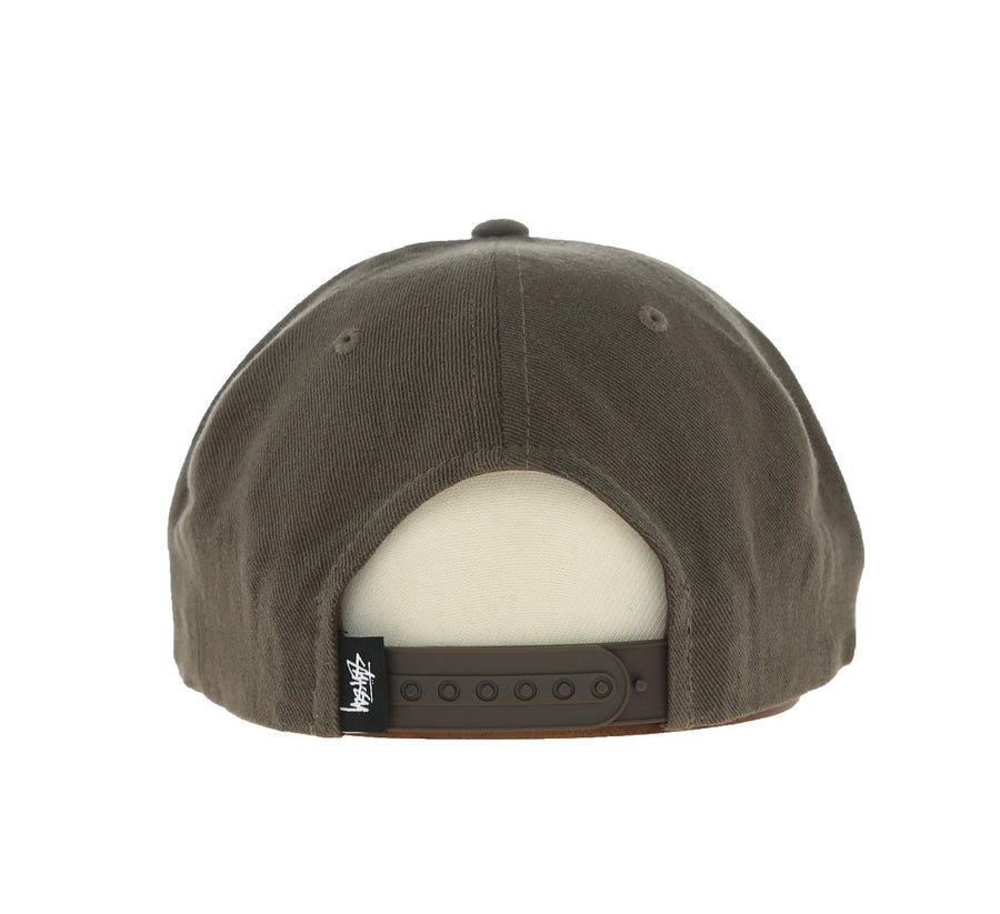 SMOOTH STOCK TWILL CAP, TAUPE