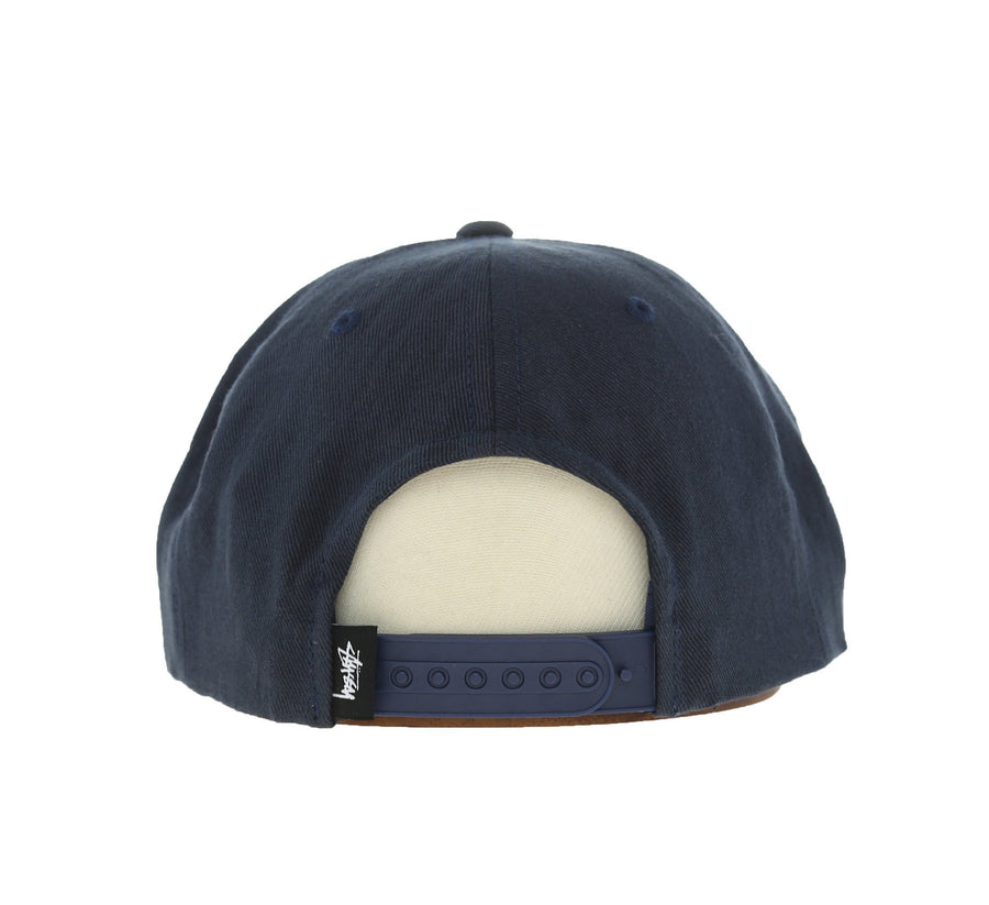 SMOOTH STOCK TWILL CAP, NAVY