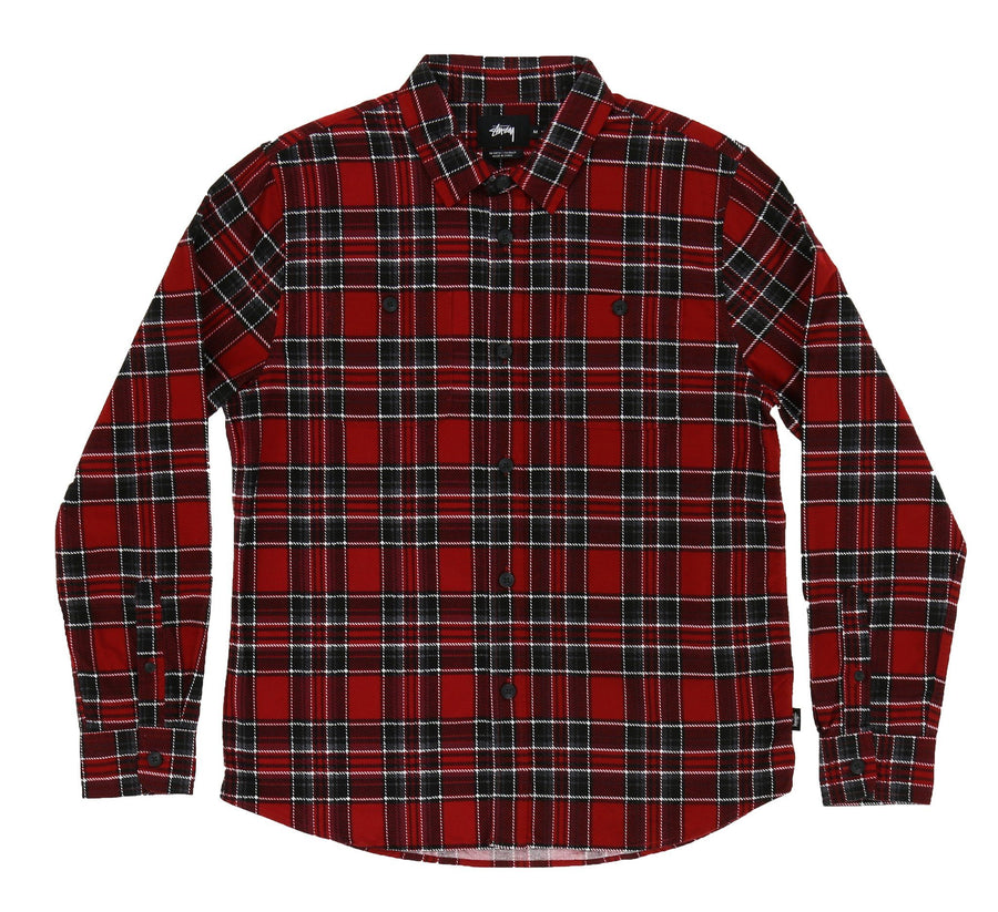 DOUBLE BRUSH FLANNEL SHIRT