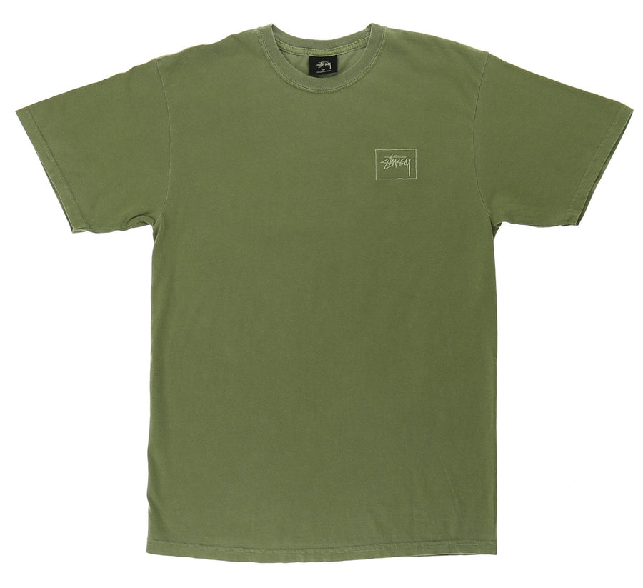 STOCK FRAME PIGMENT DYED TEE