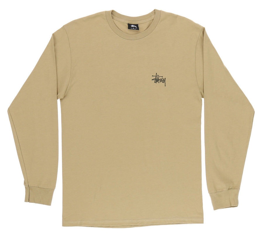 BASIC STUSSY LONG SLEEVE TEE