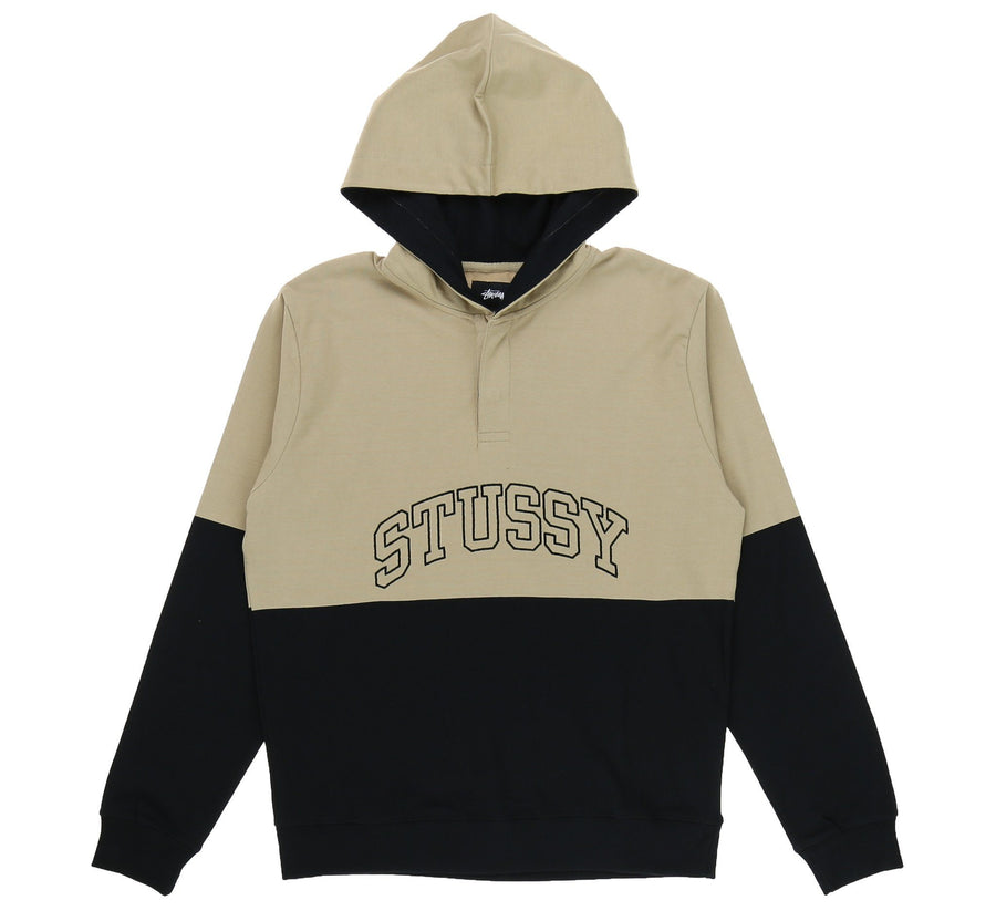 BLOCK HOODED JERSEY