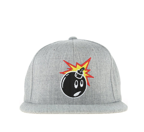 ADAM SNAPBACK, ATHLETIC HEATHER