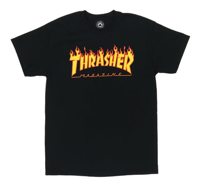 THRASHER FLAME TEE
