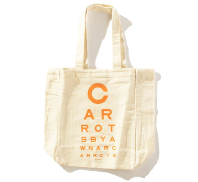 BETA-CAROTENE TOTE BAG, NATURAL
